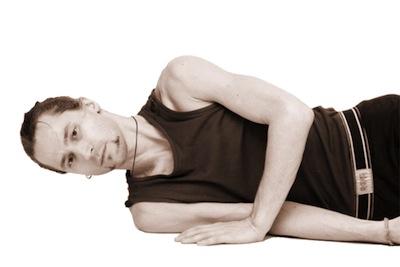 Вытяжение шеи лежа на боку