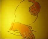 Надавливание большим пальцем