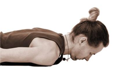 Вытяжение шеи лежа на животе