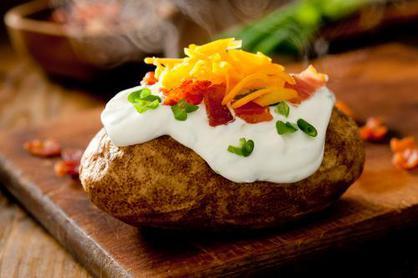 Печеная картофелина